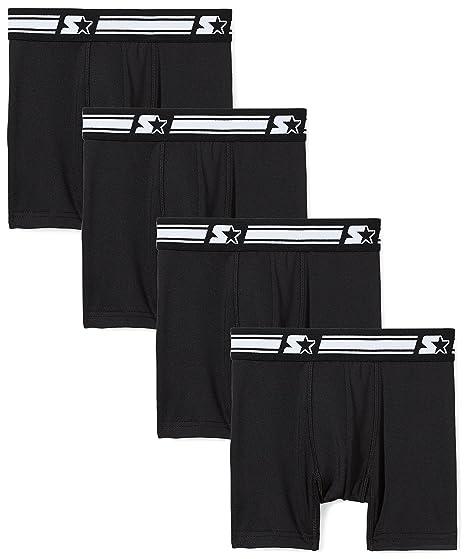 24fe4528dcf9d Starter Boys' Boxer Briefs 4-Pack, Amazon Exclusive
