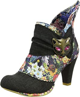 Miaow, Bottines Femme, Rose (Pink/Floral Multi AO), 37 EUIrregular Choice