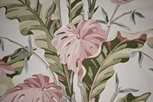Tropical Print Upholstery Fabric by The Yard – Home Decor, Decorative Material, for Sewing, DIY Projects and More
