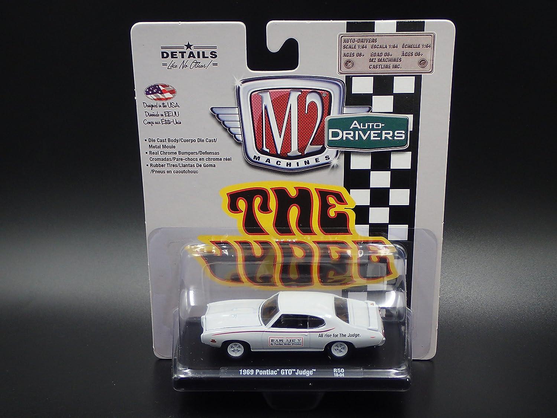 Amazon.com: M2 Machines 1969 Pontiac GTO Judge R50 2018 Auto-Drivers: Toys & Games