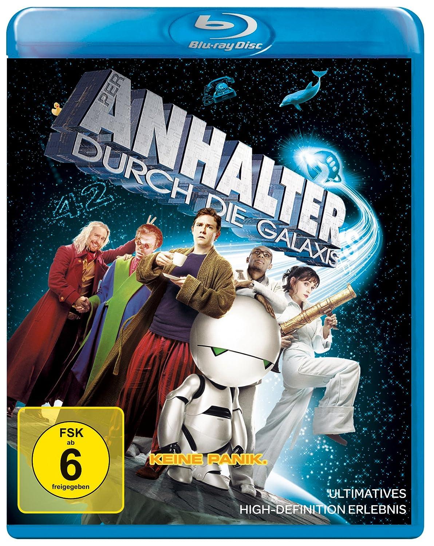 Per Anhalter durch die Galaxis [Blu-ray] [Import allemand]