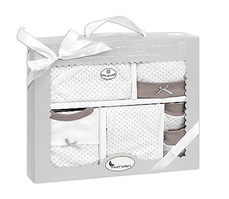 Set Ropa Recién Nacido color beige (5 piezas): Amazon.es: Bebé