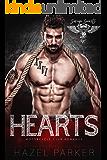 Hearts: Motorcycle Club Romance (Savage Saints MC Book 7)