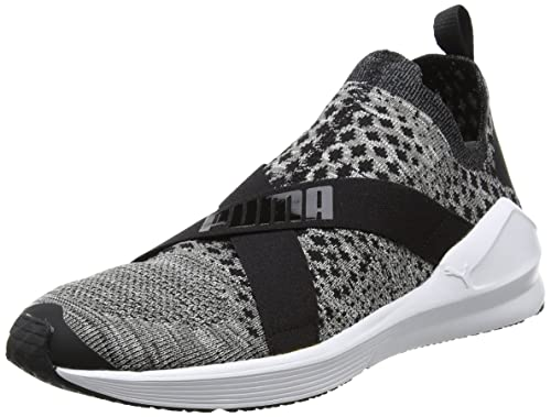 Puma Fierce Evoknit Scarpe Sportive Indoor Donna Nero Black White