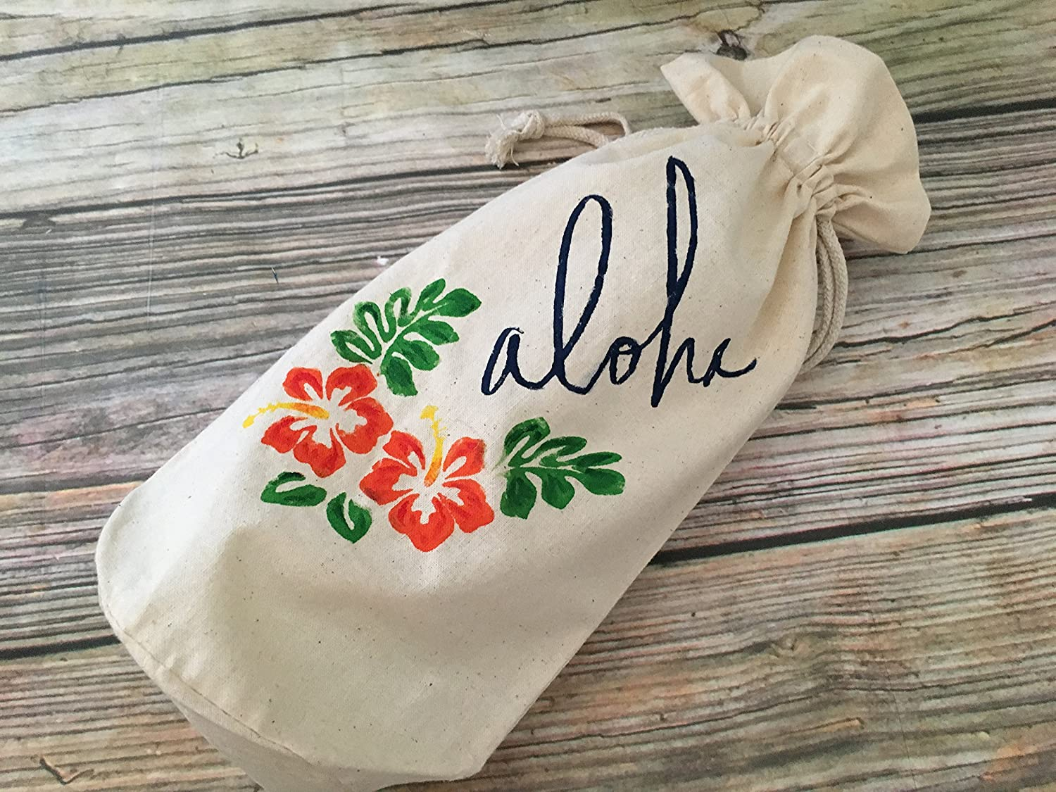Hawaiian Aloha, Champagne Beer Gift Bag