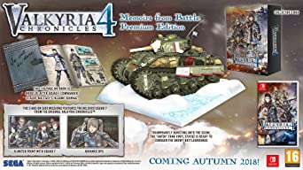 Valkyria Chronicles 4: Memoirs from Battle Premium Edition ...