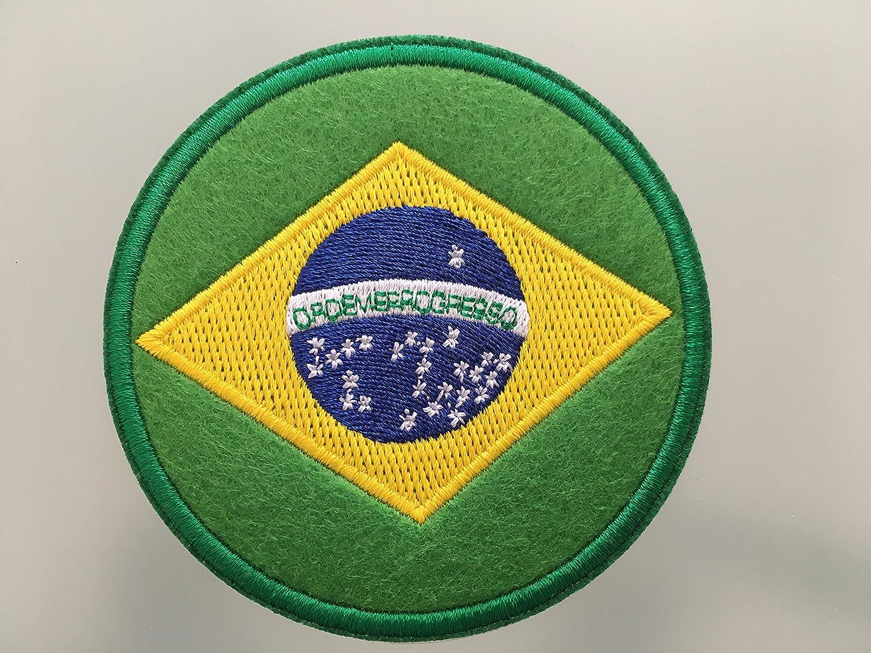 Bandera de Brasil Brasil parche – embroideed hierro en parche – 3