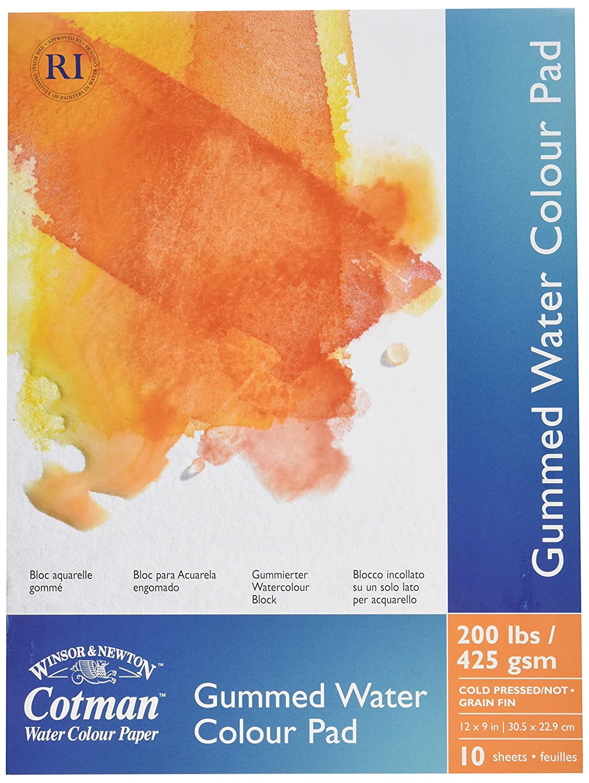 Winsor & Newton Cotman Cold Press Spiral Water Colour Paper Pad, 10 x 14 10 x 14 6657572