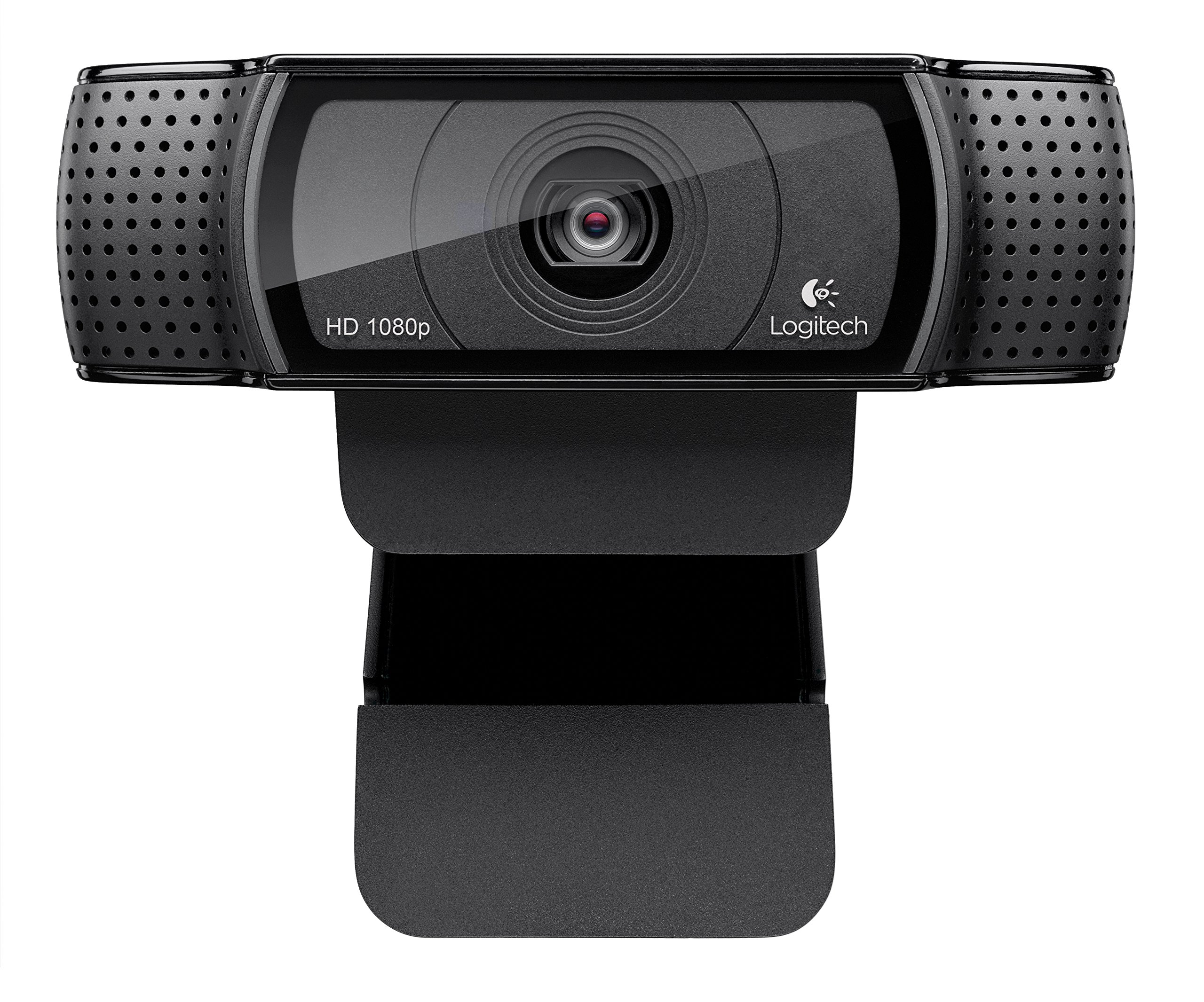 Logitech HD Pro Webcam C920, Widescreen Video Calling and Recording, 1080p Camera, Desktop or Laptop Webcam by Logitech