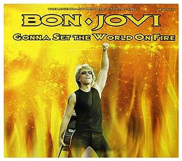 Bon Jovi - Bon Jovi - Gonna Set The World On Fire: The Legendary Broadcasts 1983-1993 [4 CD Set] - Amazon.com Music