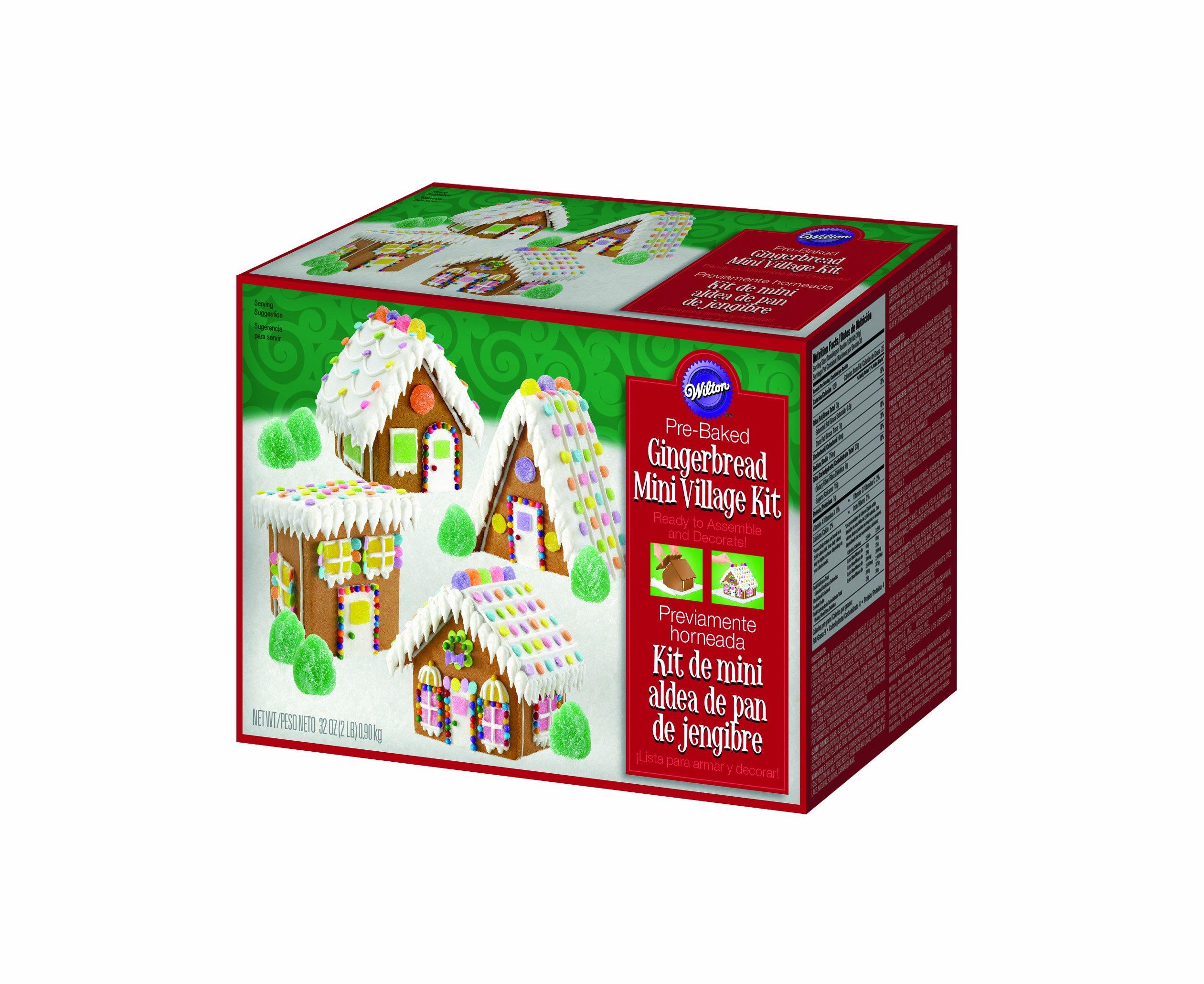 Wilton 2104-1910 Mini Village Gingerbread