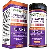 Healthywiser Ketone Strips + Bonus Alkaline Food Chart