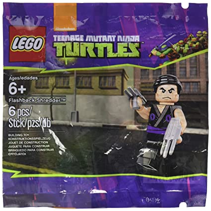 Amazon.com: LEGO Teenage Mutant Ninja Turtles Flashback ...