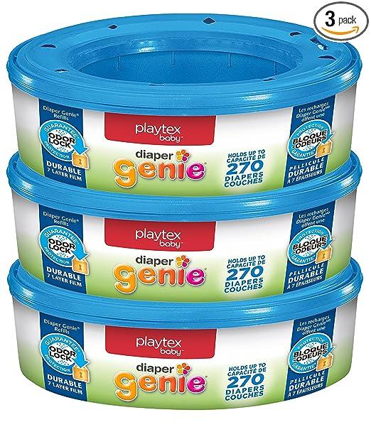 Amazon.com: Playtex Diaper Genie Refills For Diaper Genie Diaper ...