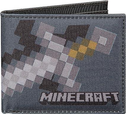 New BioWorld Kid/'s Minecraft Explorer Bifold Wallet