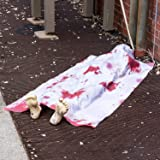 Halloween 5 Ft. Long Back From the Grave Dead Body for Creepiest Haunted House Décor Halloween Prop Decorations