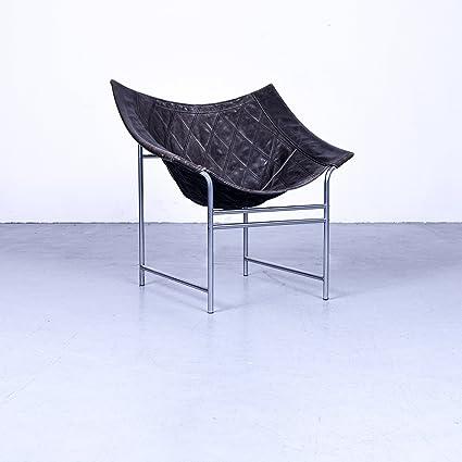 Montis Butterfly Leder Sessel Schwarz By Gerard Van Den Berg Echtleder  Designklassiker 80er #4871