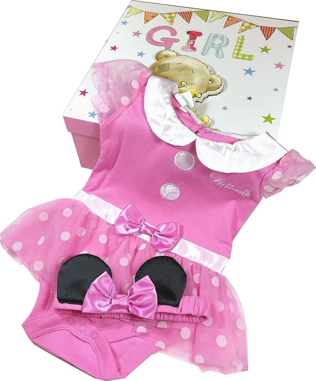 Disfraz de Minnie Mouse para bebé, color rosa, de 6 a 9 meses ...