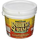 Enviro Pro 11006 Rabbit Scram Repellent Granular White Pail, 6 Pounds