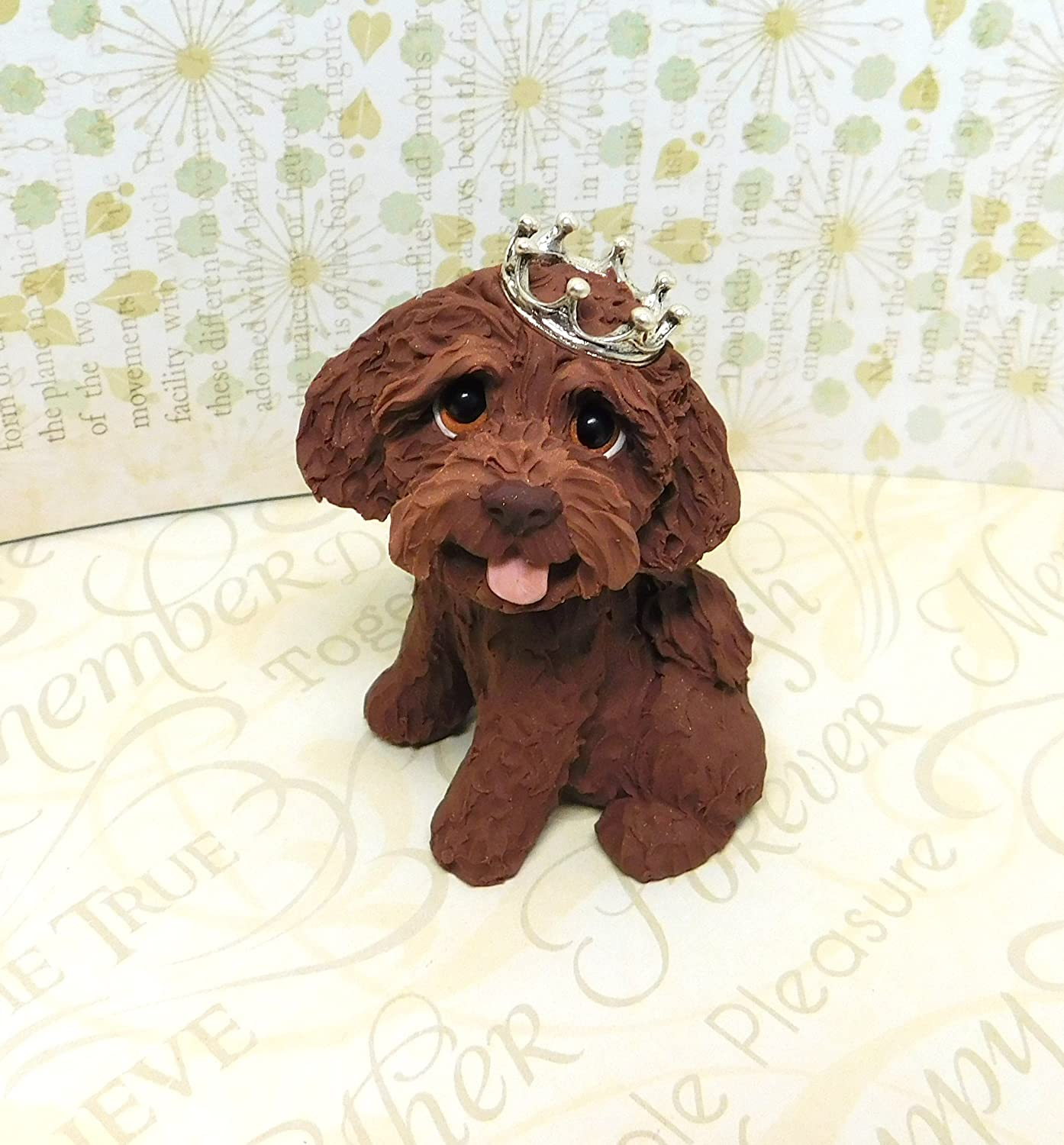 Amazoncom Labradoodle With A Crown Labradoodle Art Royal