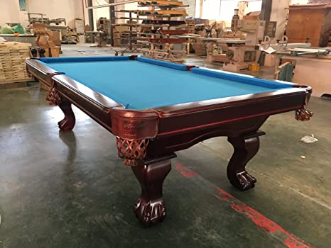 8 ft. tunier Billard Billard de Table avec forte 3 cm ...