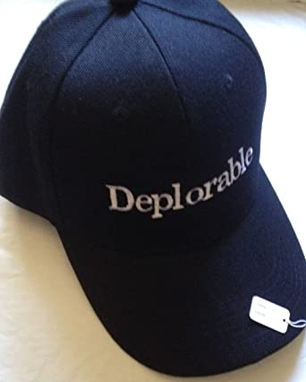 06500c1e2f9 Image Unavailable. Image not available for. Color  Donald Trump DEPLORABLE  black Hat