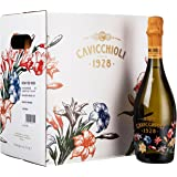 Cavicchioli 意大利之花甜型起泡葡萄酒750ml*6(意大利进口)(Wine)