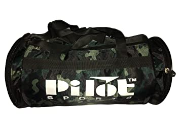 Buy PS Pilot Sports kit bag Gym Bag Duffle Bag For Fitness Green color  Online at Low Prices in India - Amazon.in 50a7578368951