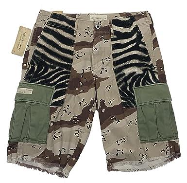 eed330dcc Denim   Supply Ralph Lauren Camouflage Zebra Cargo Shorts (29