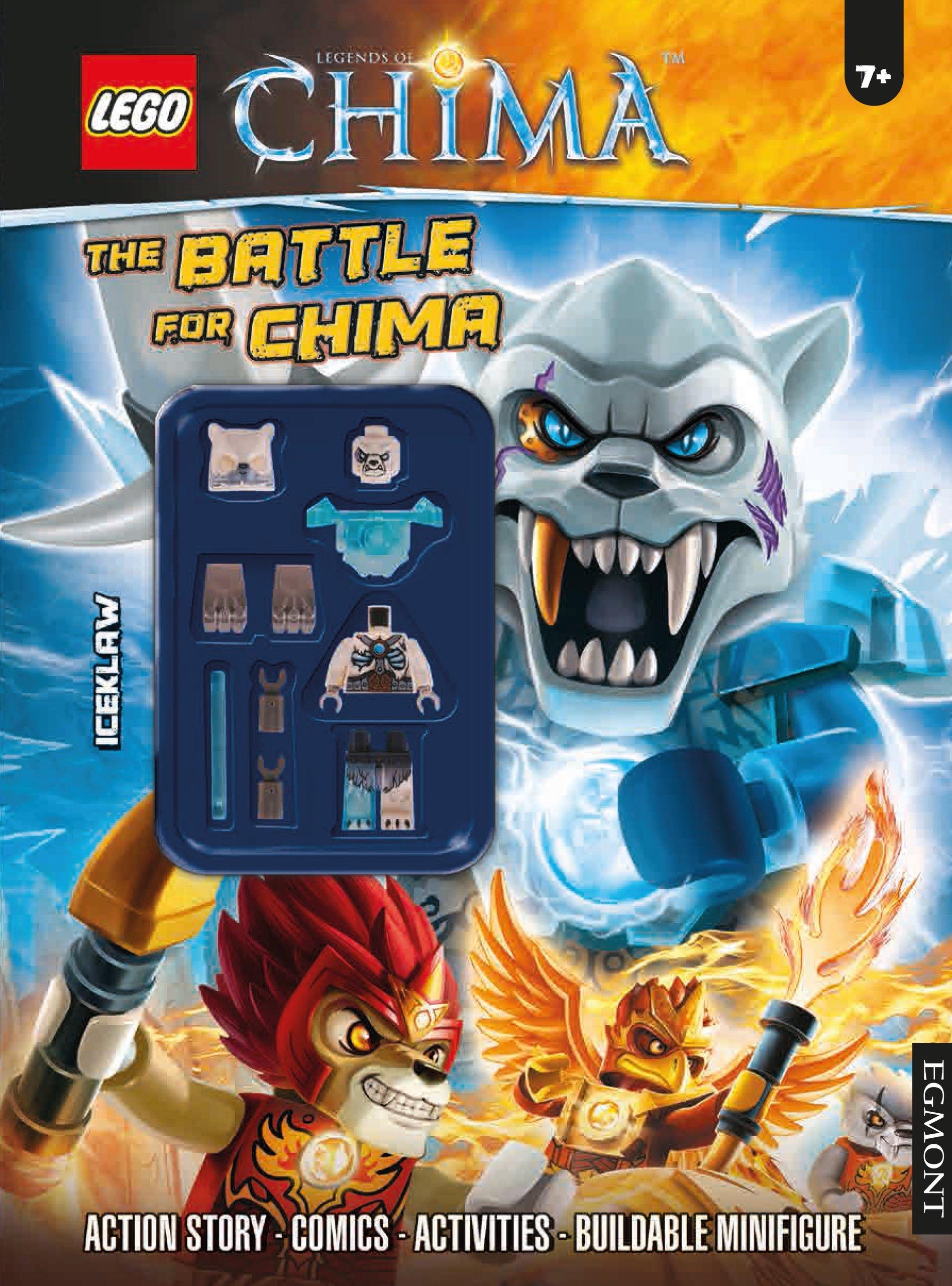 Amazon chima party supplies - Lego Chima The Battle For Chima Egmont Uk Ltd 9781405278034 Amazon Com Books