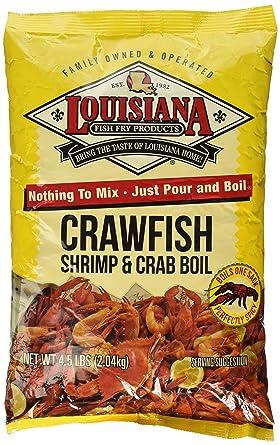 Amazon Com Louisiana Fish Fry Crawfish Shrimp Crab Boil
