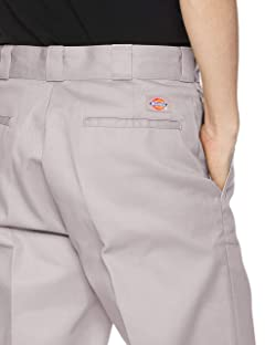 Dickies Original 874 Work Pants: Silver
