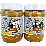 Trader Joe's Creamy No Salt Organic Peanut Butter 16 Oz. 2 Pack