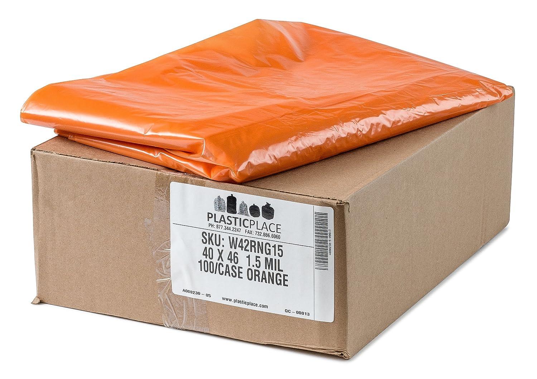 100// case Pink 31-33 Gallon Trash Bags