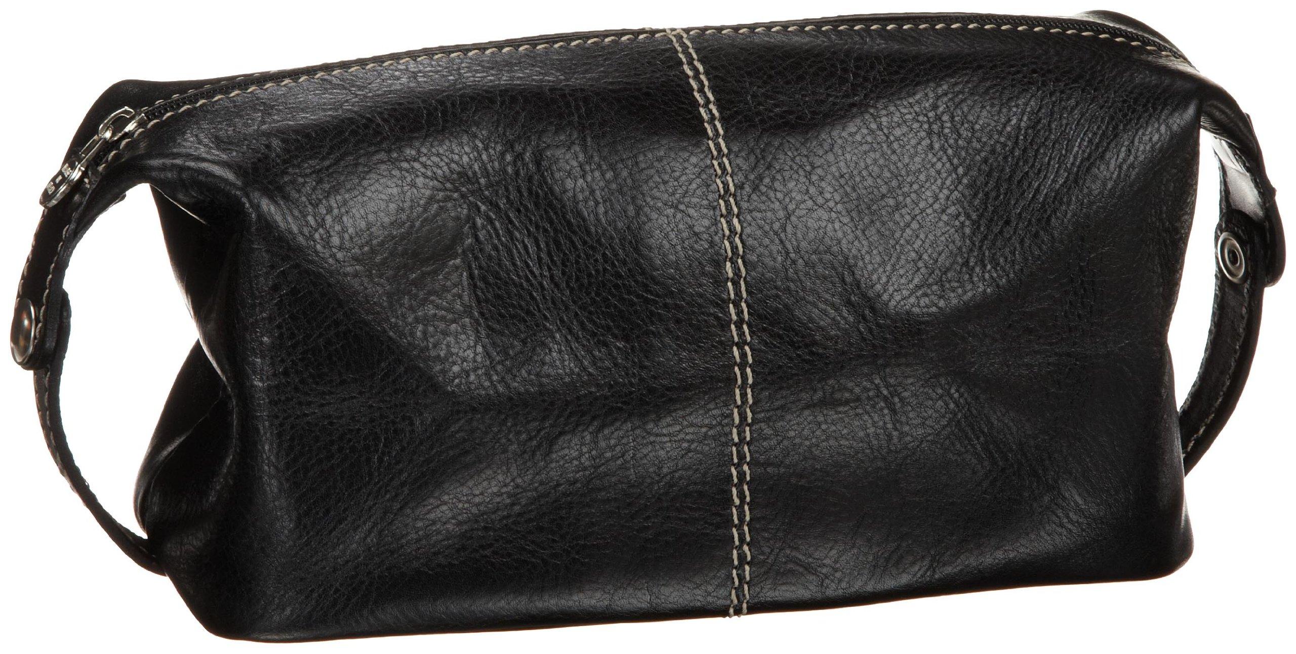 Floto Luggage Venezia Travel Kit,Black,one size