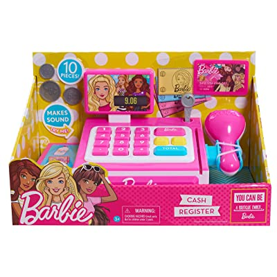 Barbie 62555 0 Small Cash Register: Toys & Games