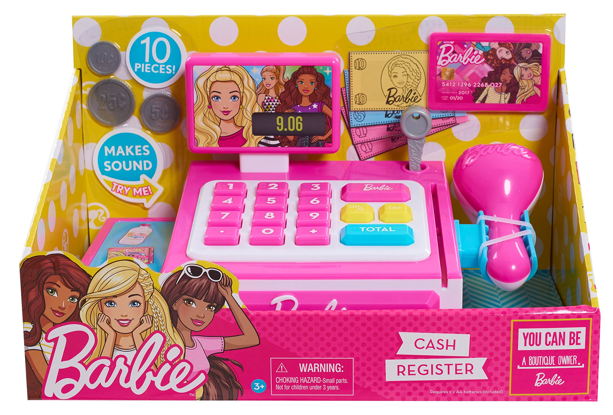 Barbie 62555 0 Small Cash Register by Barbie
