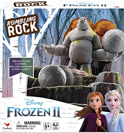 Cardinal Games 6053993 Anna Elsa Frozen 2 Rumbling Rock Game Mixed Colours Toys Games