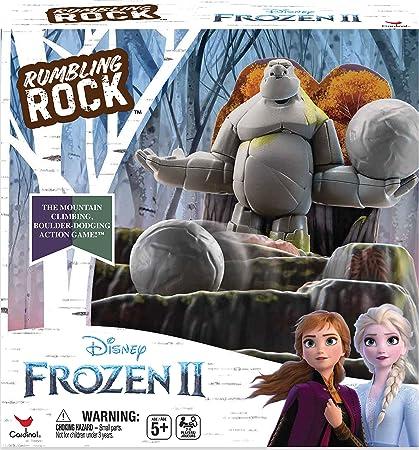 Cardinal Games 6053993 Anna Elsa Frozen 2 Rumbling Rock Game Mixed Colours Toys Games