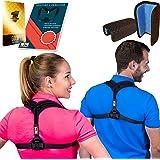Only1MILLION Posture Corrector for Women & Men for Fix Upper Back Pain – Adjustable Posture Brace for Improve Bad Posture | Thoracic Kyphosis Brace | Posture Support