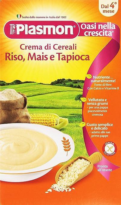 9 opinioni per Plasmon- Oasi nella Crescita, Crema di Cereali, dal 4 mese , 1 Scatola