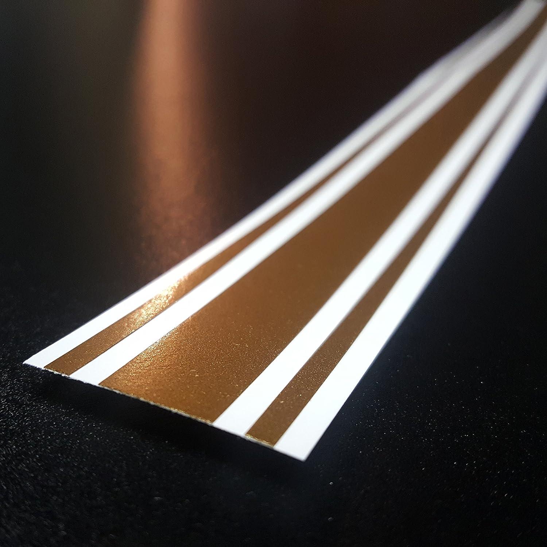 ORACAL 2x72 Vinyl Racing Stripe Decal Sunflower Yellow - PMS 1235C