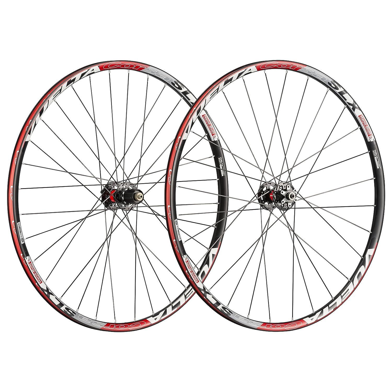 Vuelta Corsa SLX手作り合金クリンチャー11spロードホイールセット、ディスクブレーキのみ   B079V479S9