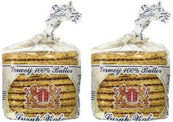 Stroopwafels - 20 Dutch Verweij 100% Butter Stroopwafels In Frustration  Free Packaging
