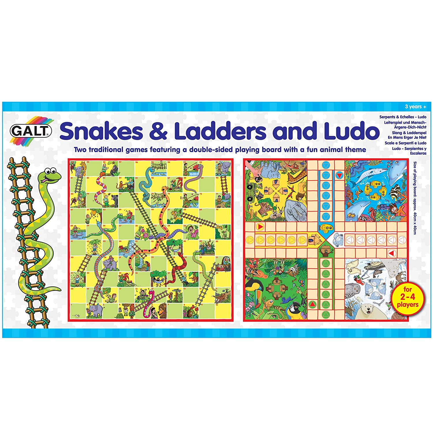 Amazon Snakes Ladders And Ludo Board Game Toys Games