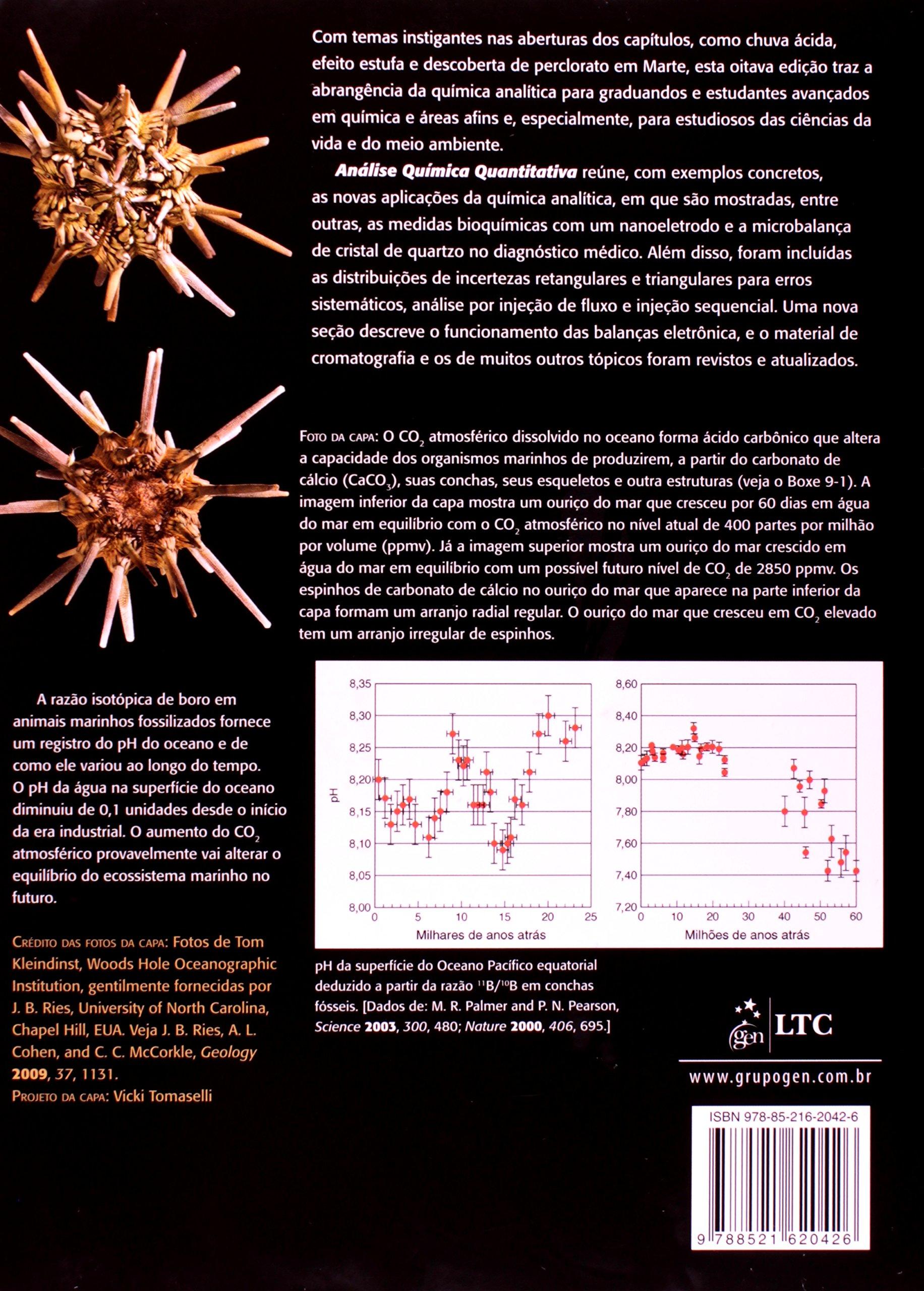 Analise Quimica Quantitativa: Daniel C. Harris: 9788521620426: Amazon.com: Books