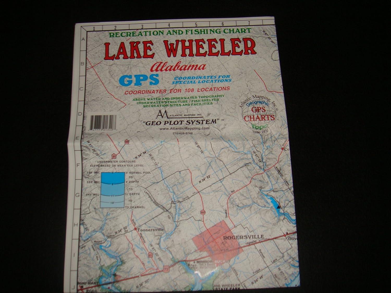 Amazon com: Lake Wheeler Enlarged Version Geographic GPS