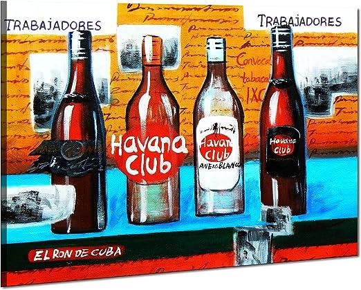 Cuba Havana Club Party - 30x40 - pintura al óleo Lienzo ...