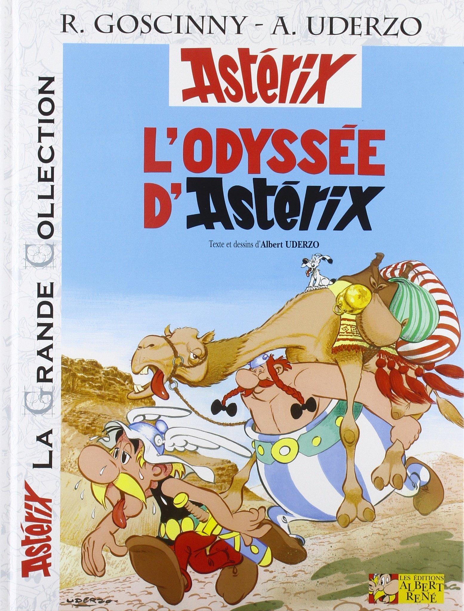 Download Astérix, Tome 26 : L'odyssée d'Astérix (Asterix Grande Collection) (French Edition) pdf