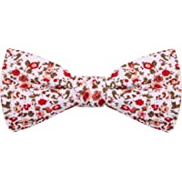 Peluche The Floral Affair - Red Bow Tie For Men
